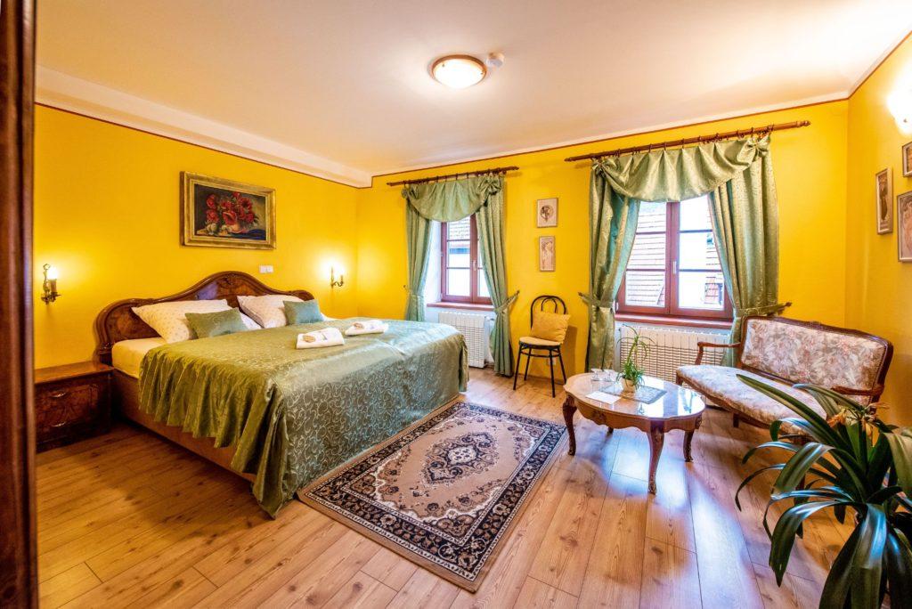Ubytování U Bílé Paní Český Krumlov Dvoulůžkový pokoj