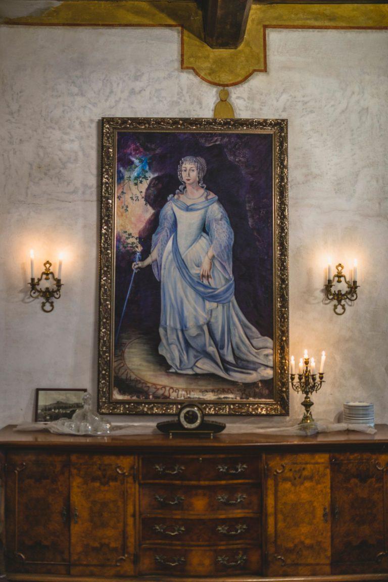 Ubytování U Bílé Paní Český Krumlov Bílá Paní Pověst