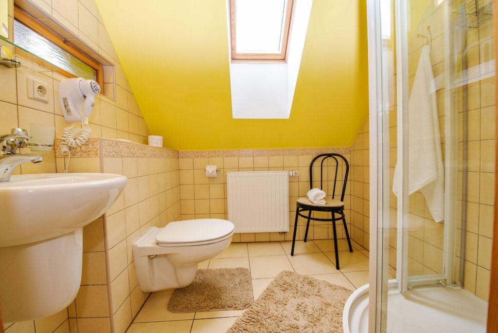 Ubytování U Bílé Paní Český Krumlov Koupelna