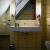 Ubytování U Bílé Paní Český Krumlov Apartmán pokoj koupelna